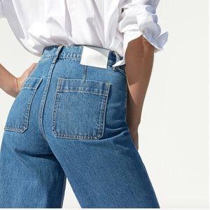 Everlane Jeans - NEW Everlane Edition 02 Wide Leg Crop Denim 24